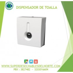DISPENSADOR TOALLA MANOS EN Z