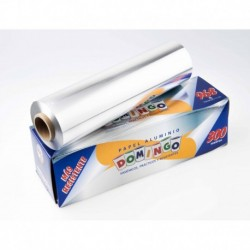 PAPEL ALUMINIO  300 MTS DOMINGO