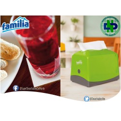 DISPENSADOR SERVILLETA PLUS 100 FAMILIA VERDE 80133