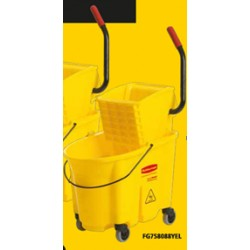 CARRO ESCURRIDOR 33 LT RUBBERMAID