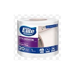 PAPEL HIG REG BCO TH X 20 MTS - ELITE 34336 (24)